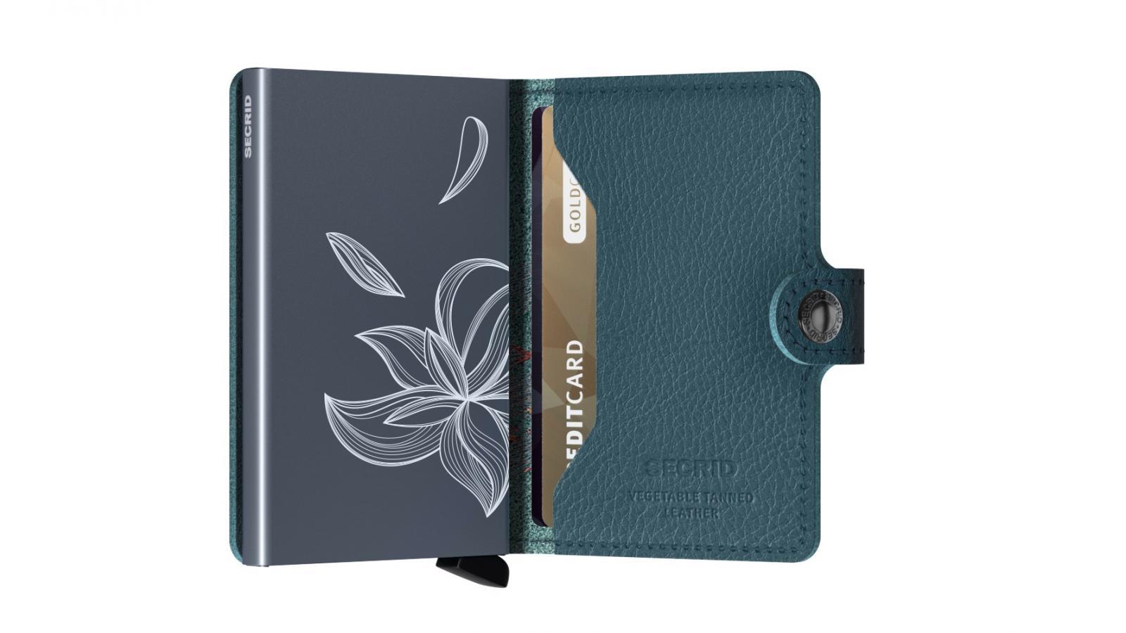 Secrid Miniwallet Stic Magnolia Petrolio Wallet