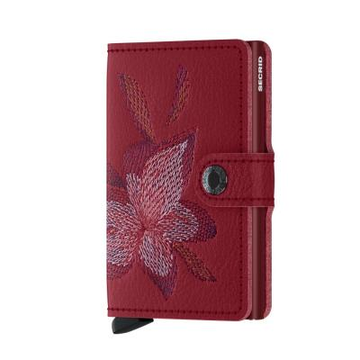 Secrid Miniwallet Stich Magnolia Rosso Wallet