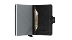 Secrid Miniwallet Stichline Black Cüzdan - Thumbnail