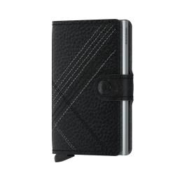 Secrid - Secrid Miniwallet Stichline Black Wallet