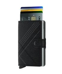 Secrid - Secrid Miniwallet Stichline Black Wallet (1)