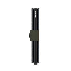 Secrid Miniwallet Stichlinea Lime Cüzdan - Thumbnail