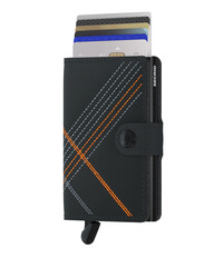 Secrid - Secrid Miniwallet Stichlinea Orange Wallet (1)