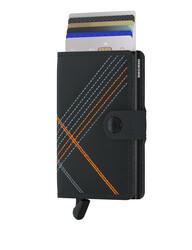 Secrid - Secrid Miniwallet Stichlinea Orange Wallet (1)