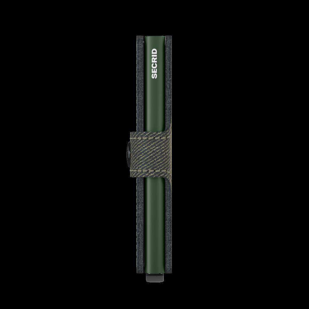 Secrid Miniwallet Twist Green Cüzdan