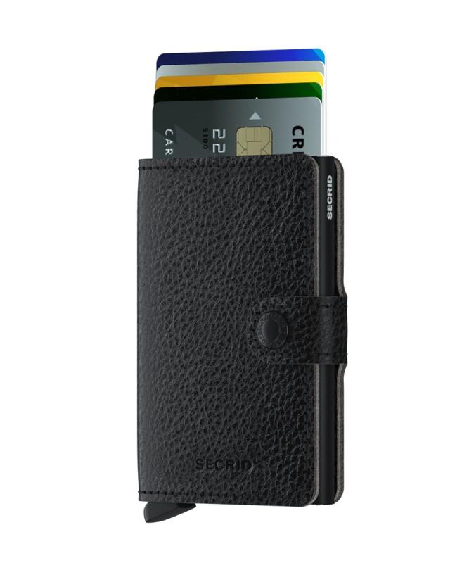 Secrid - Secrid Miniwallet Veg Black Wallet (1)