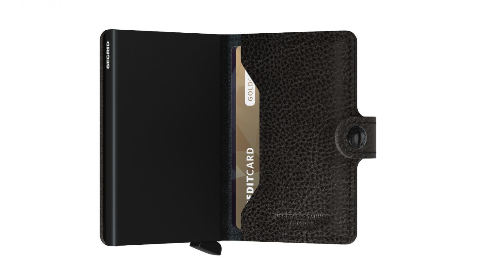 Secrid Miniwallet Veg Black Wallet
