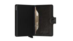 Secrid Miniwallet Veg Black Wallet - Thumbnail