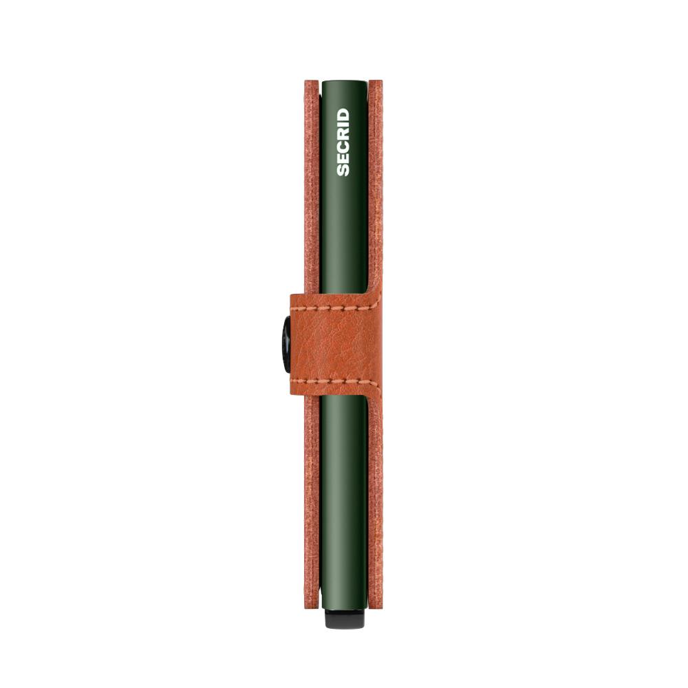 Secrid Miniwallet Veg Caramello Green Cüzdan