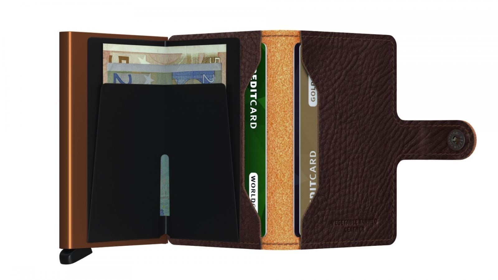 Secrid Miniwallet Veg Caramello Wallet