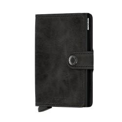 Secrid - Secrid Miniwallet Vintage Black Wallet