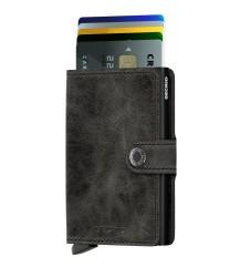 Secrid - Secrid Miniwallet Vintage Black Wallet (1)
