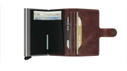 Secrid Miniwallet Vintage Brown Cüzdan - Thumbnail