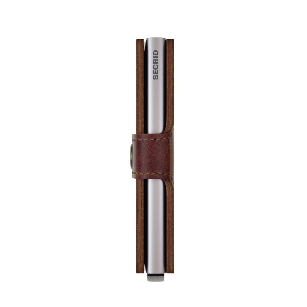 Secrid Miniwallet Vintage Brown Cüzdan