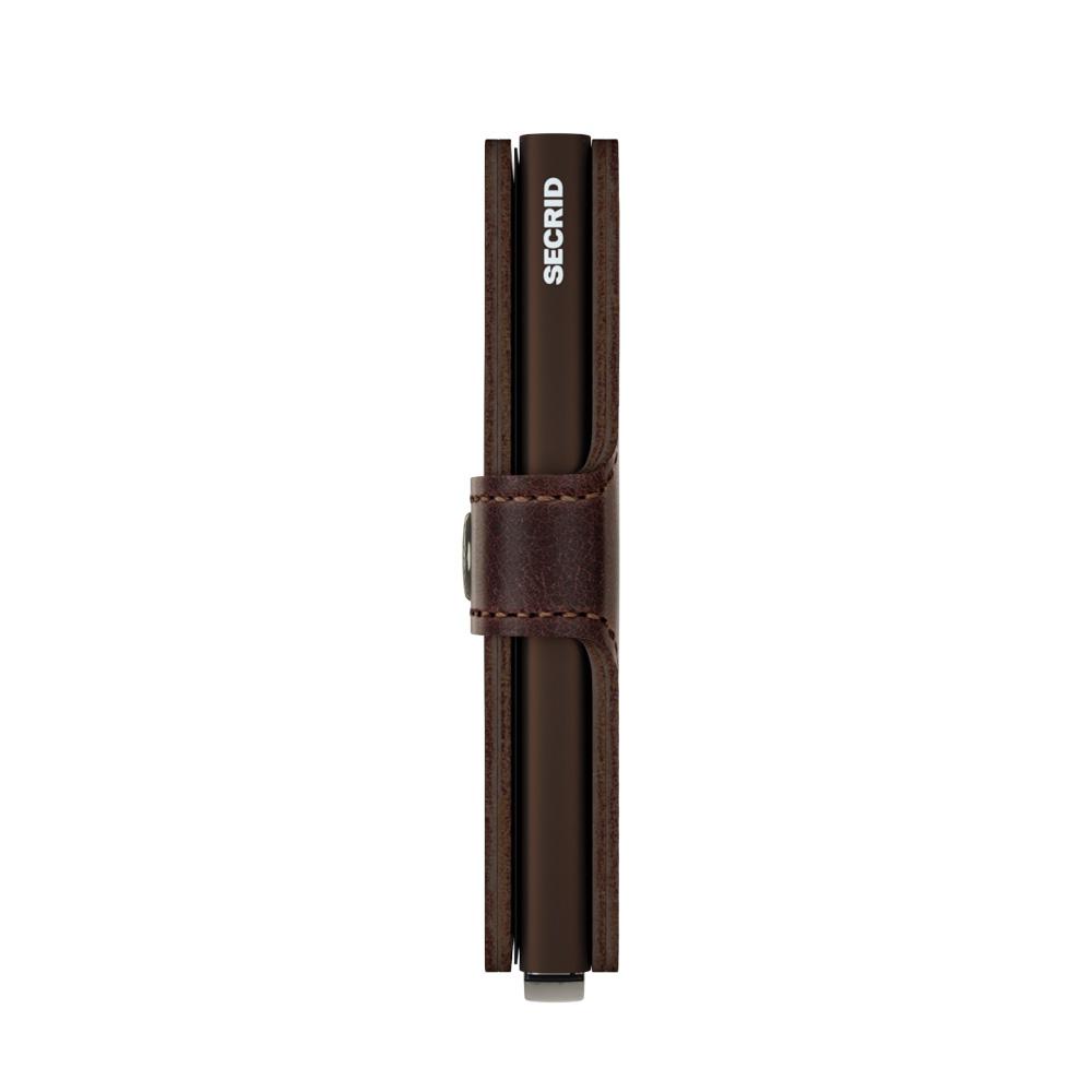 Secrid Miniwallet Vintage Chocolate Cüzdan