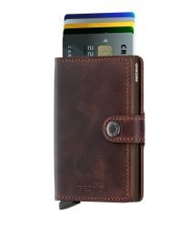 Secrid - Secrid Miniwallet Vintage Chocolate Wallet (1)