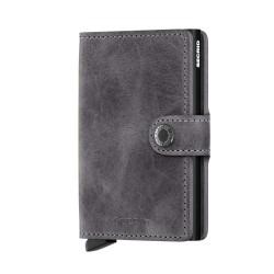 Secrid - Secrid Miniwallet Vintage Grey Black Wallet