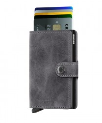 Secrid - Secrid Miniwallet Vintage Grey Black Wallet (1)