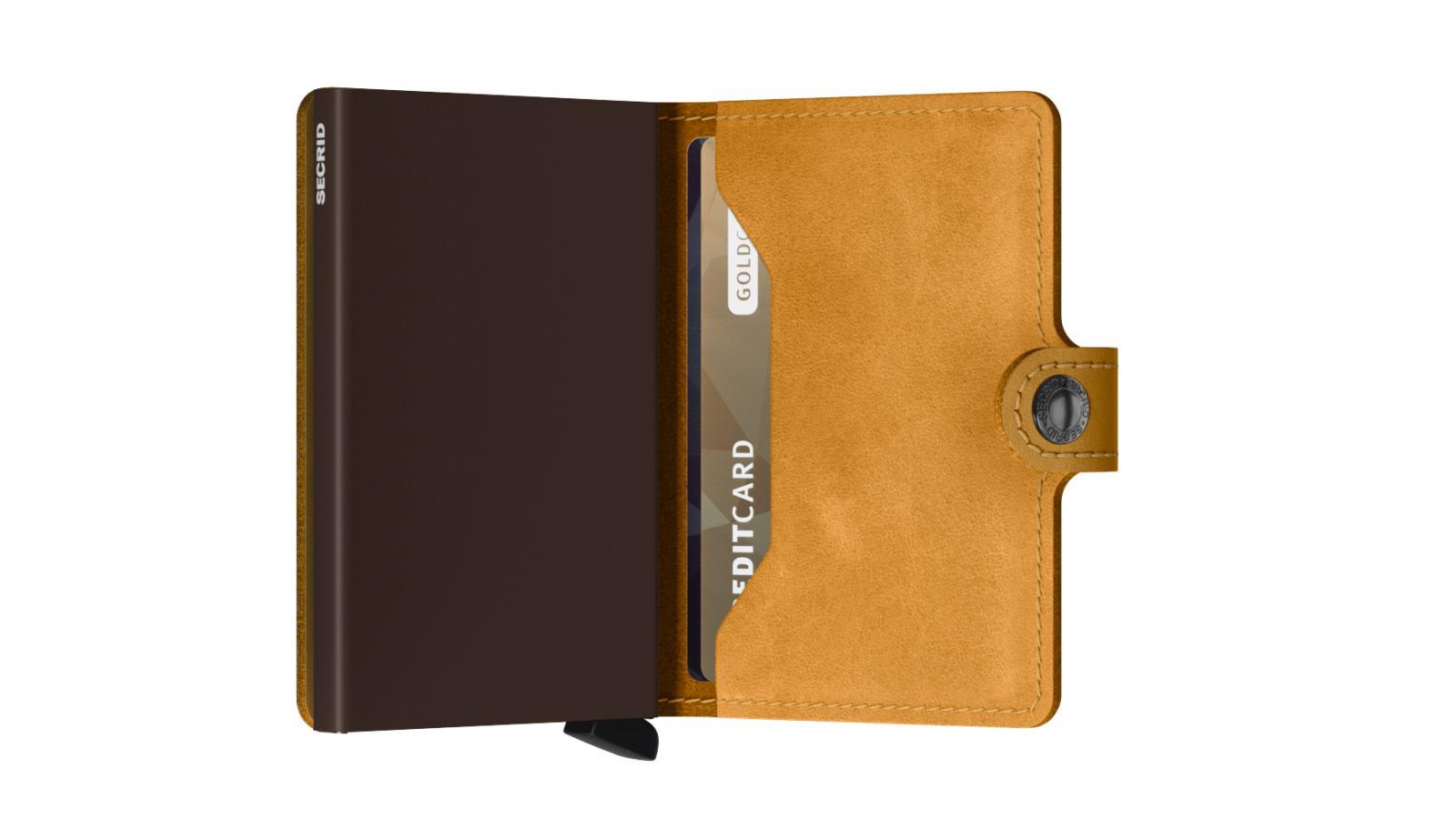 Secrid Miniwallet Vintage Ochre Wallet