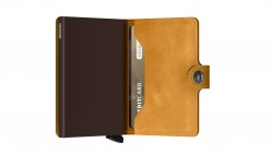 Secrid Miniwallet Vintage Ochre Wallet - Thumbnail