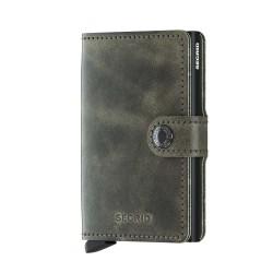 Secrid - Secrid Miniwallet Vintage Olive Black Wallet