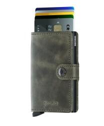 Secrid - Secrid Miniwallet Vintage Olive Black Wallet (1)