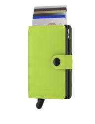 Secrid - Secrid Miniwallet Yard Lime Cüzdan (1)