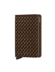 Secrid - Secrid Slimwallet Basket Brown Cüzdan