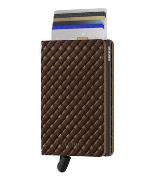 Secrid - Secrid Slimwallet Basket Brown Cüzdan (1)