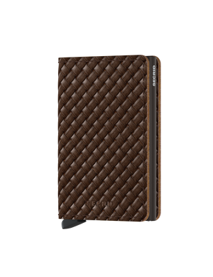 Secrid - Secrid Slimwallet Basket Brown Wallet