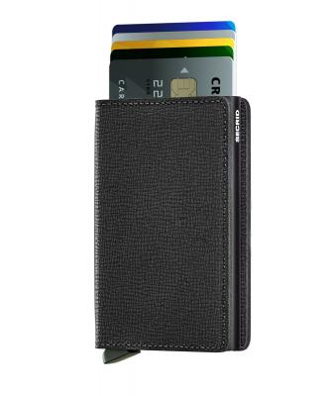 Secrid - Secrid Slimwallet Crisple Black Wallet (1)