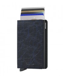 Secrid - Secrid Slimwallet Crunch Blue Cüzdan (1)