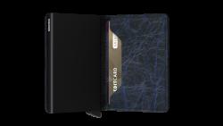 Secrid Slimwallet Crunch Blue Cüzdan - Thumbnail