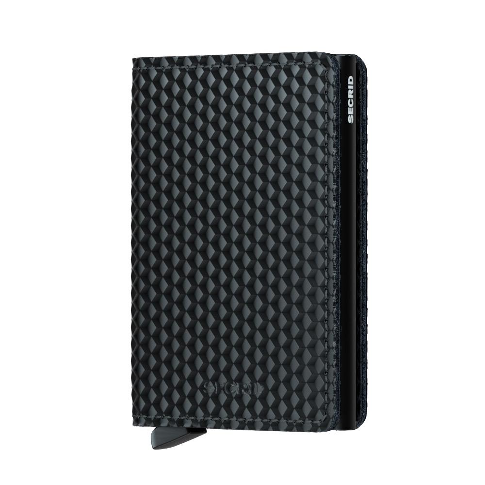 Secrid Slimwallet Cubic Black Cüzdan