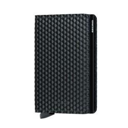 Secrid Slimwallet Cubic Black Cüzdan - Thumbnail