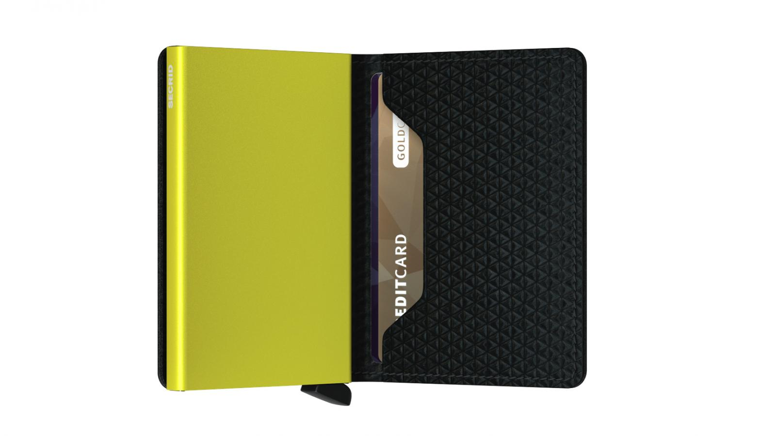 Secrid Slimwallet Diamond Black Cüzdan