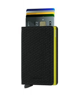 Secrid - Secrid Slimwallet Diamond Black Wallet (1)