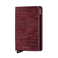 Secrid Slimwallet Dutchmartin Bordeaux Wallet - Thumbnail