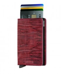 Secrid - Secrid Slimwallet Dutchmartin Bordeaux Wallet (1)