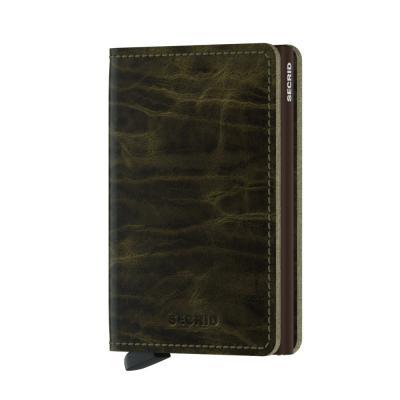 Secrid Slimwallet Dutchmartin Olive Wallet