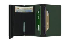 Secrid Slimwallet Matte Green Black Cüzdan - Thumbnail