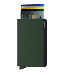 Secrid - Secrid Slimwallet Matte Green Black Wallet (1)