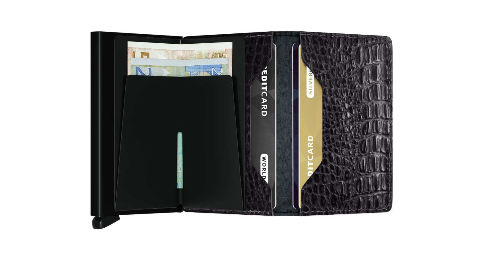 Secrid Slimwallet Nile Black Wallet