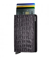 Secrid Slimwallet Nile Black Wallet - Thumbnail