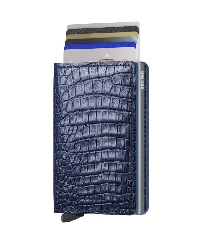 Secrid - Secrid Slimwallet Nile Blue Cüzdan (1)