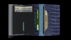 Secrid Slimwallet Nile Blue Cüzdan - Thumbnail