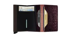 Secrid Slimwallet Nile Brown Wallet - Thumbnail