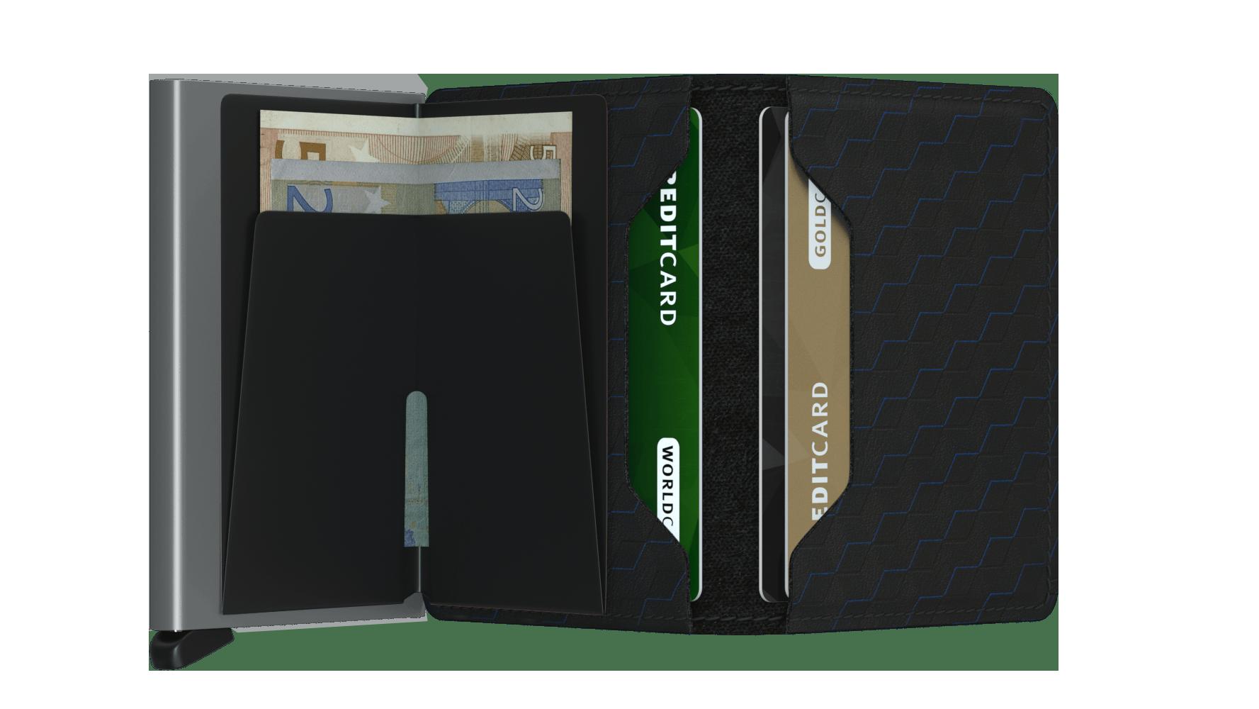 Secrid Slimwallet Optical Black Wallet