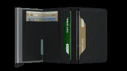 Secrid Slimwallet Optical Black Wallet - Thumbnail