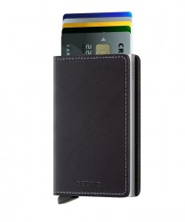 Secrid - Secrid Slimwallet Original Black Wallet (1)